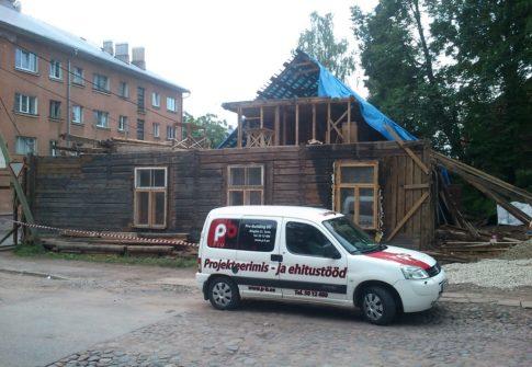 KORTERELAMU REKONSTUREERIMINE<br>Kalevi 11, Tartu