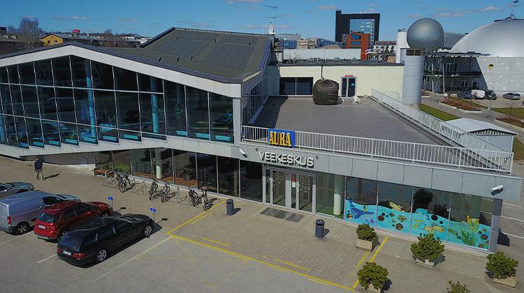 Aura veekeskus Pro-Building