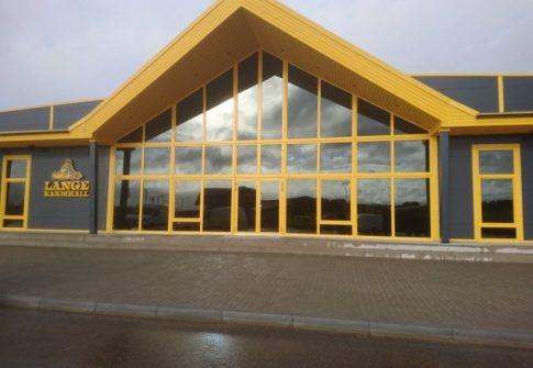 Motokeskuse viimistlus- ja plaatimistööd<br>Lange, Kastre vald